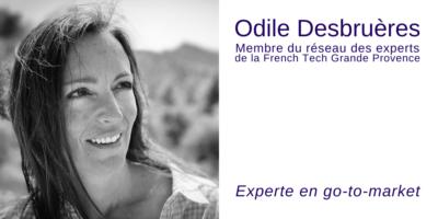 Odile Desbruères go-to-market