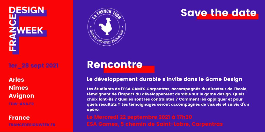 Rencontre Esa games France Design Week