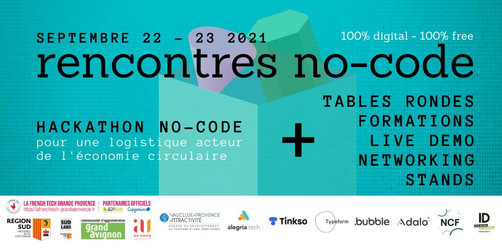 les rencontres no-code de la French Tech Grande Provence